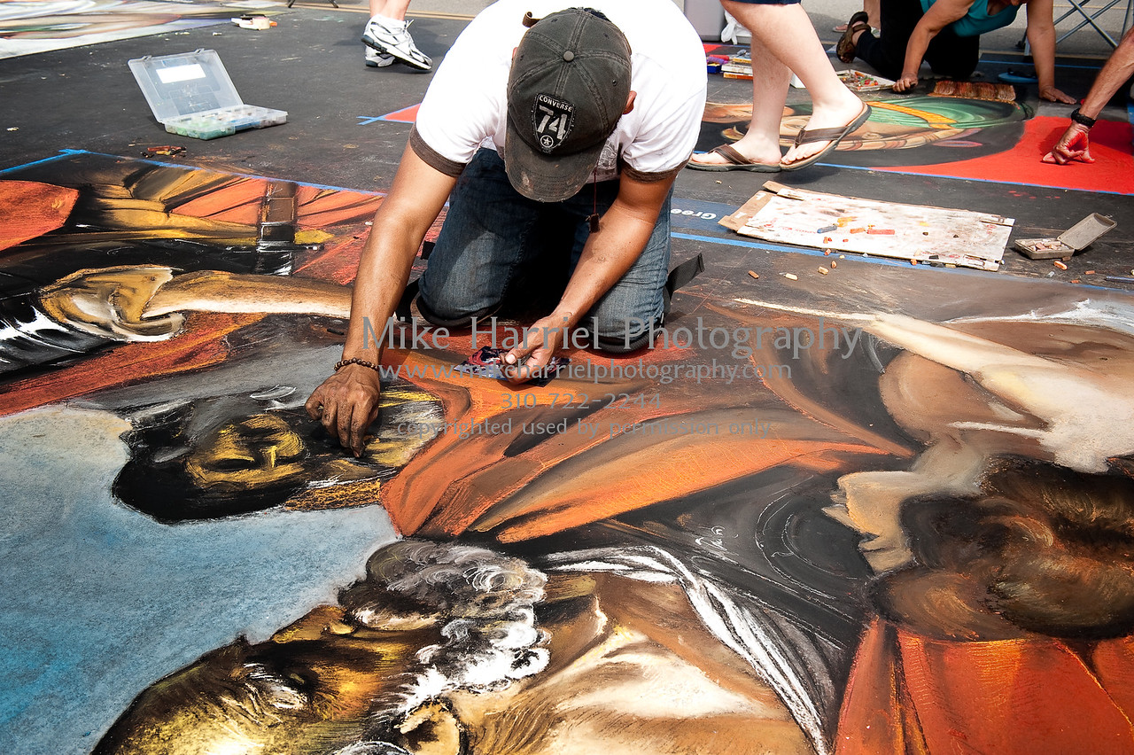 Carlsbad Art Splash - Sidewalk Chalk Art-18