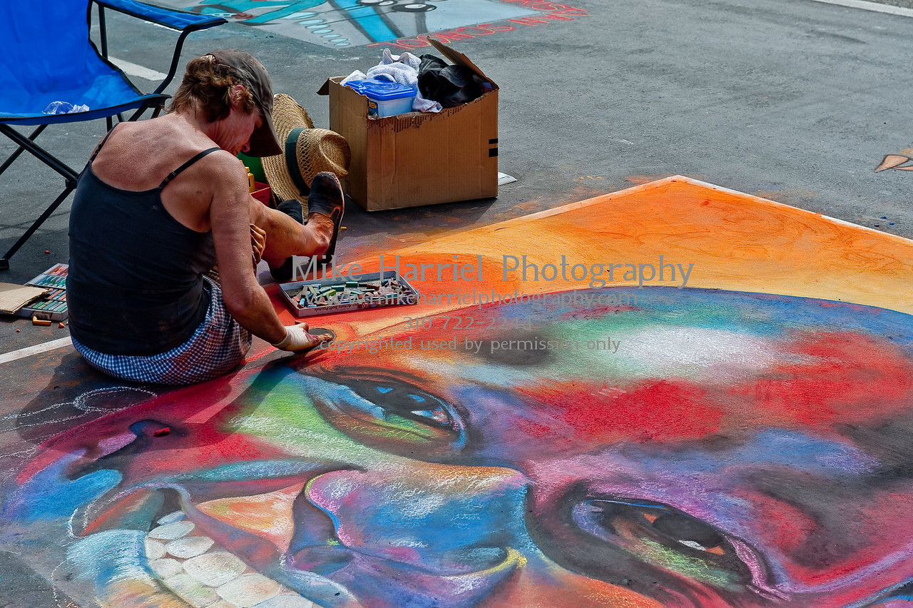 Carlsbad Art Splash - Sidewalk Chalk Art-4