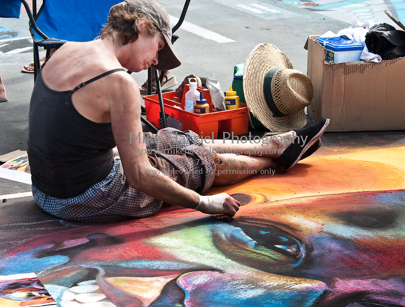 Carlsbad Art Splash - Sidewalk Chalk Art-27