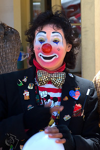Clown (one at every event...)