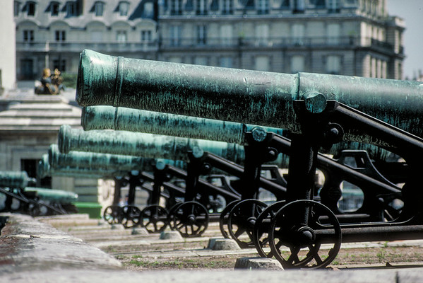 Cannons of Les Invalide