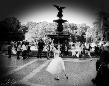 Ballerina Dreams in Central Park