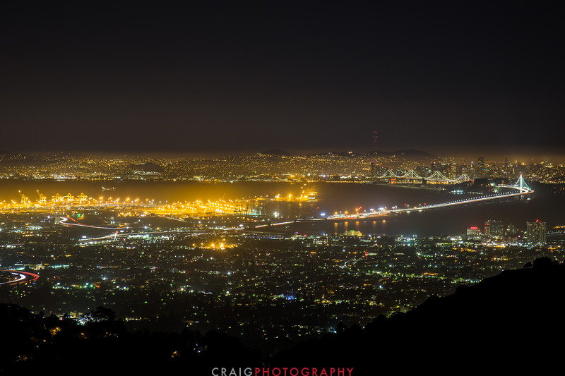 San Francisco, Oakland and the New Bay Bridge #1
