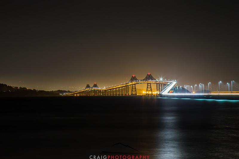 Richmond - San Rafael Bridge #1 across San Francisco Bay