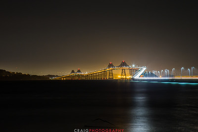 Richmond - San Rafael Bridge #1 across San Francisco Bay
