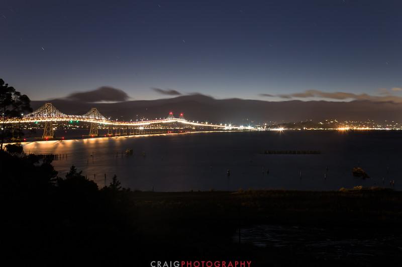 Richmond - San Rafael Bridge #2 across San Francisco Bay