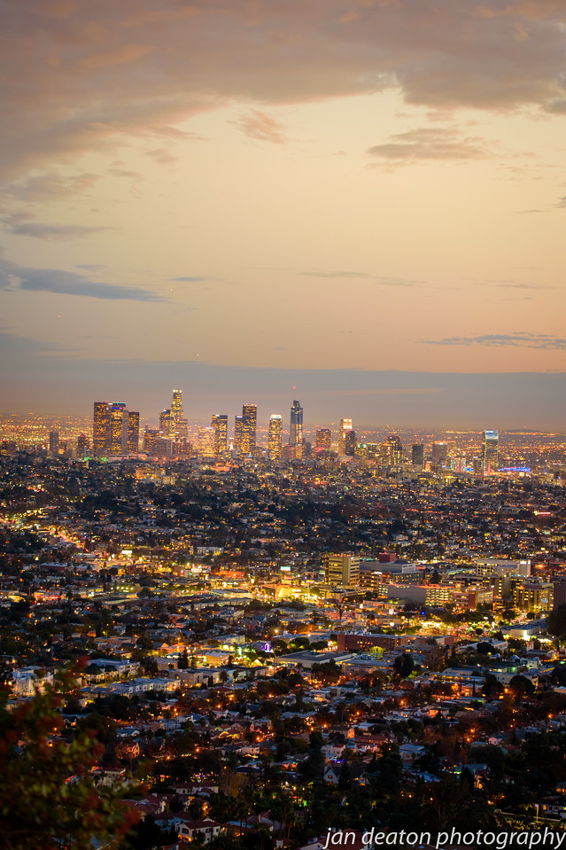 Downtown LA at Dusk
