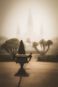 The catheodral in the Fog