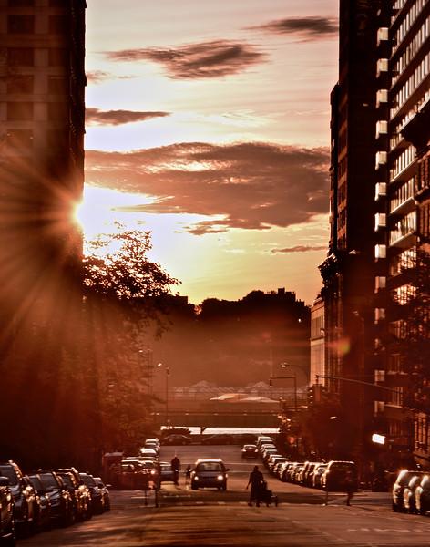 Sunset Peek-a-Boo