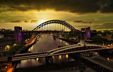 Newcastle Upon Tyne City Nights