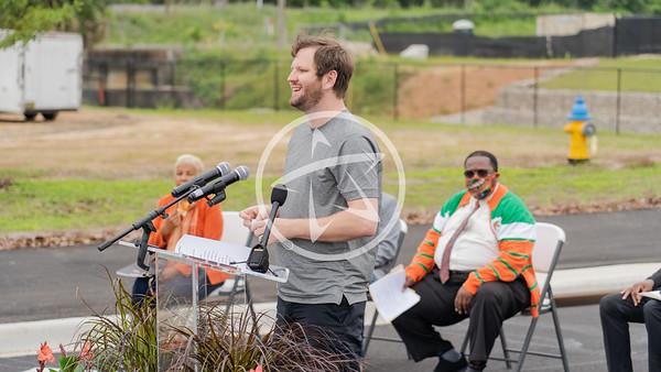 Jeremy Matlow at the FAMU Way opening.