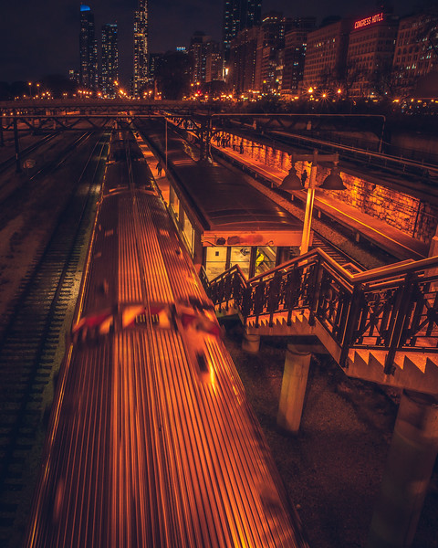 Chicago Train Station