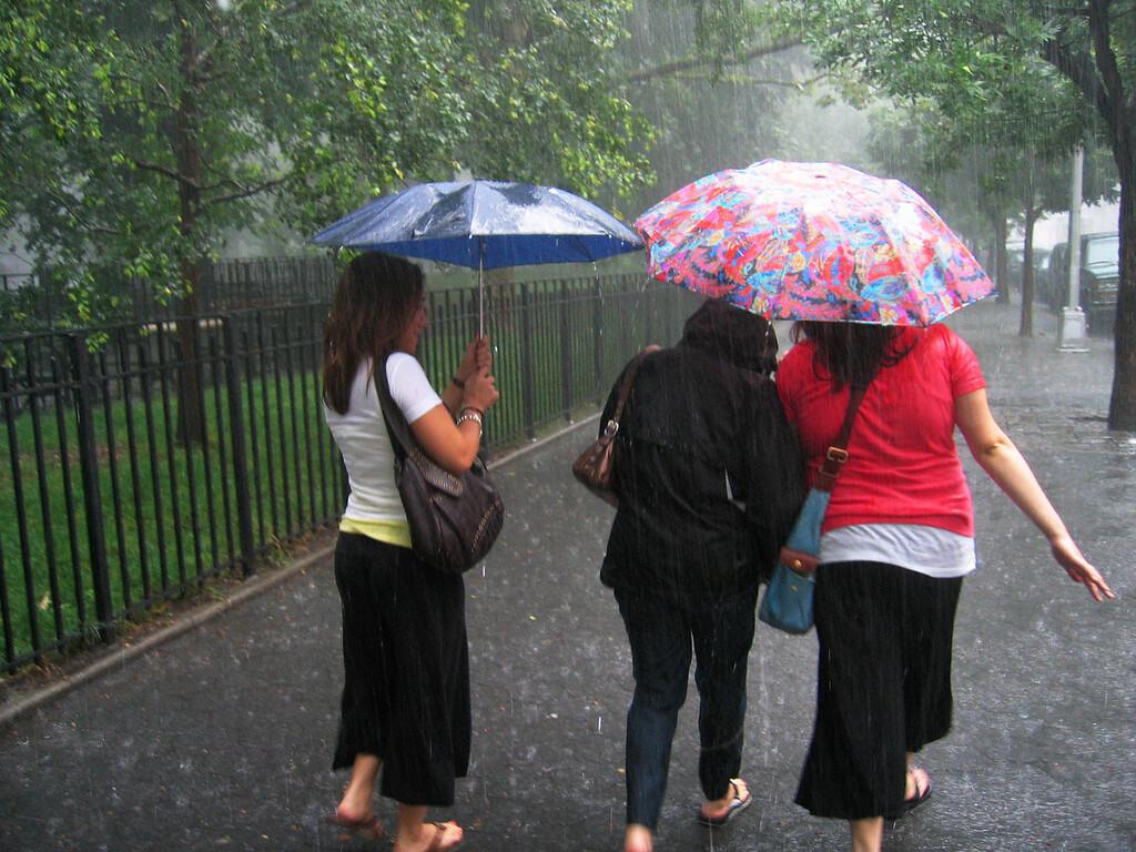 Rain, East Village, New York City