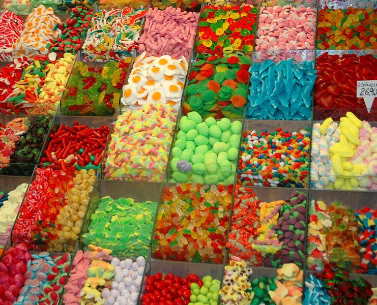 Candy, La Boqueria, Barcelona, Spain