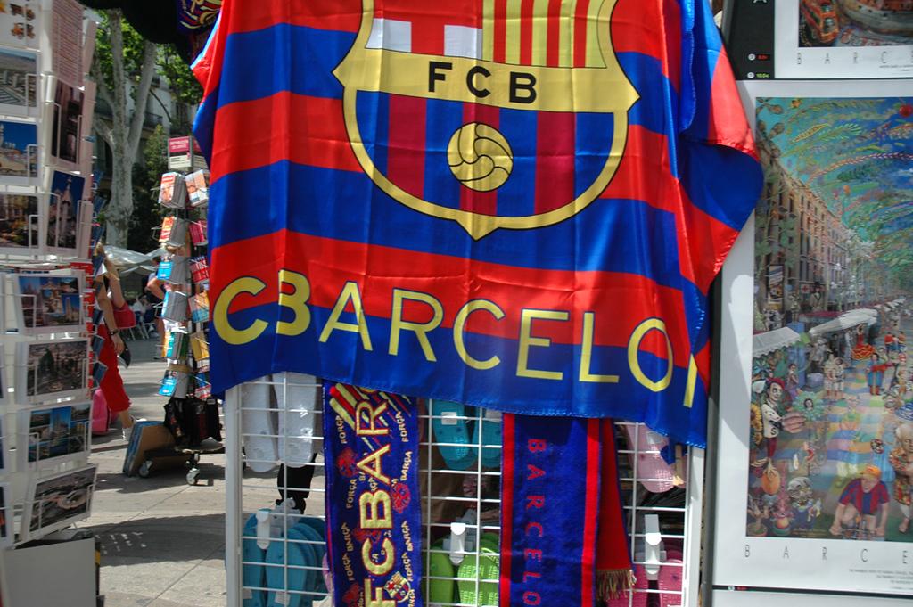 Futbol, Barcelona, Spain