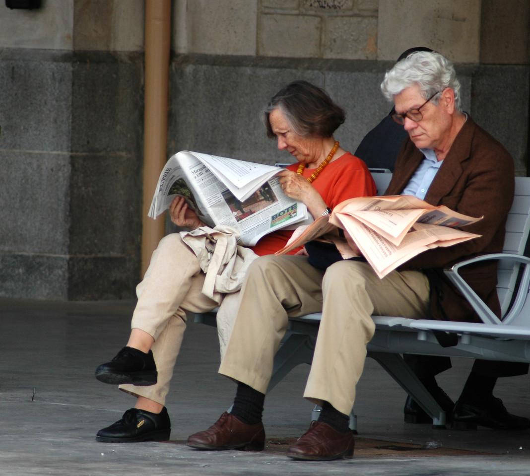 Morning News, Toledo, Spain