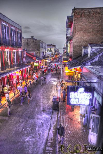 Bourbon Street.