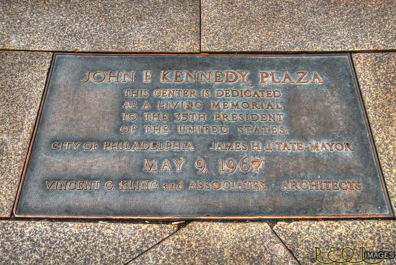 Kennedy Plaque