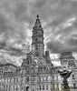 City Hall B & W