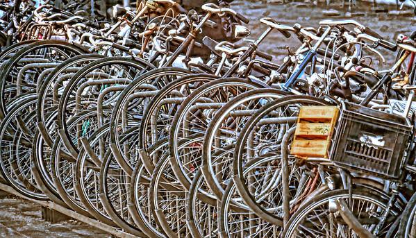 Amsterdam bikes, #0672