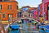 Bridge over Burano, #0578