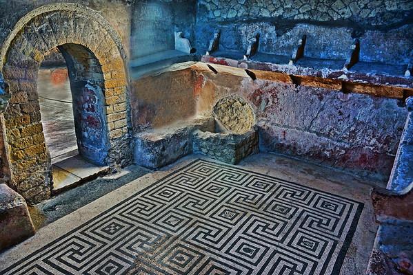 Ruins in Herculaneum, #0558