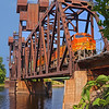 BNSF hauls over St. Croix river
