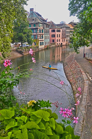 Kayaking in Strasbourg