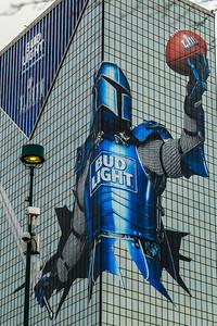 Bud Light knight taking over