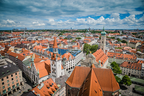 Tower View of Munich, Germany