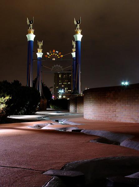 Bicentennial Plaza River