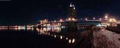 Suspension Bridge Covington Kentucky