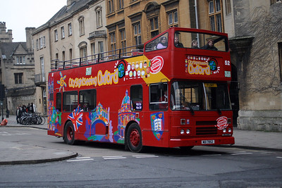 52-MUI 7852 on St Giles, Oxford City Centre.