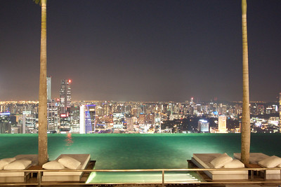 Infinity Pool, Marina Bay Sands Skypark