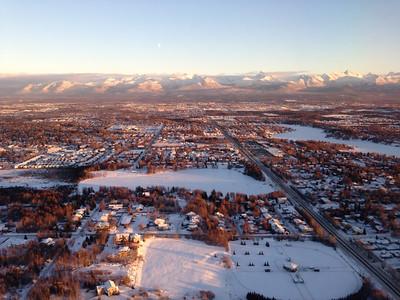 Above Anchorage, Alaska