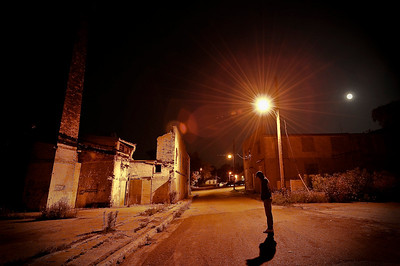 Elora, Night Photography, Ontario, Canada, My friend Mike
