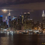 MIdtown Manhattan - Lunar eclipse