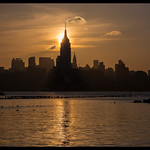 Manhattan Skyline Silhouette 2