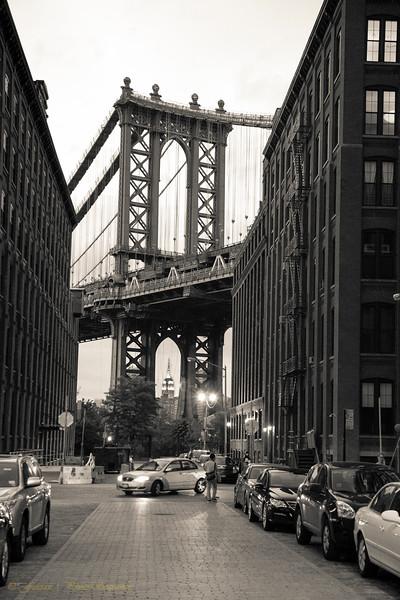 Manhattan Bridge - Washington Street
