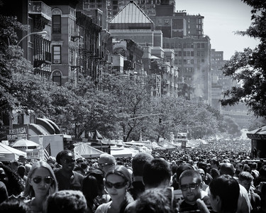 The Ninth Avenue International Food Festival in New York, NY -- May 2012