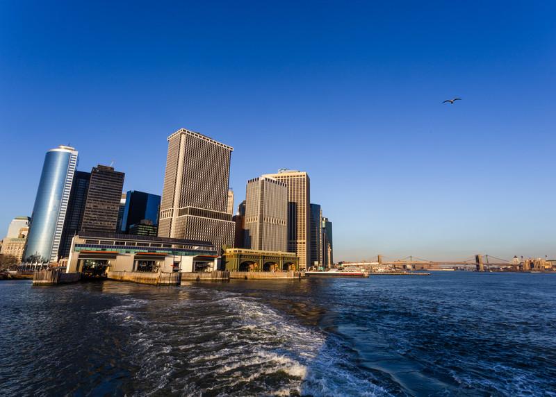 Downtown Manhattan, New York, NY.