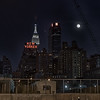 The Super Moon on June 22, 2013, as seen from New York City.