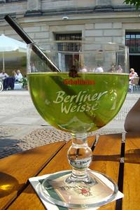 Berliner Weisse, het streekbier van Berlijn.