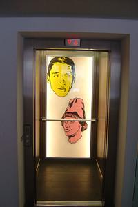 """Kust in de lift van de """"Belgische Boodschap""""."""