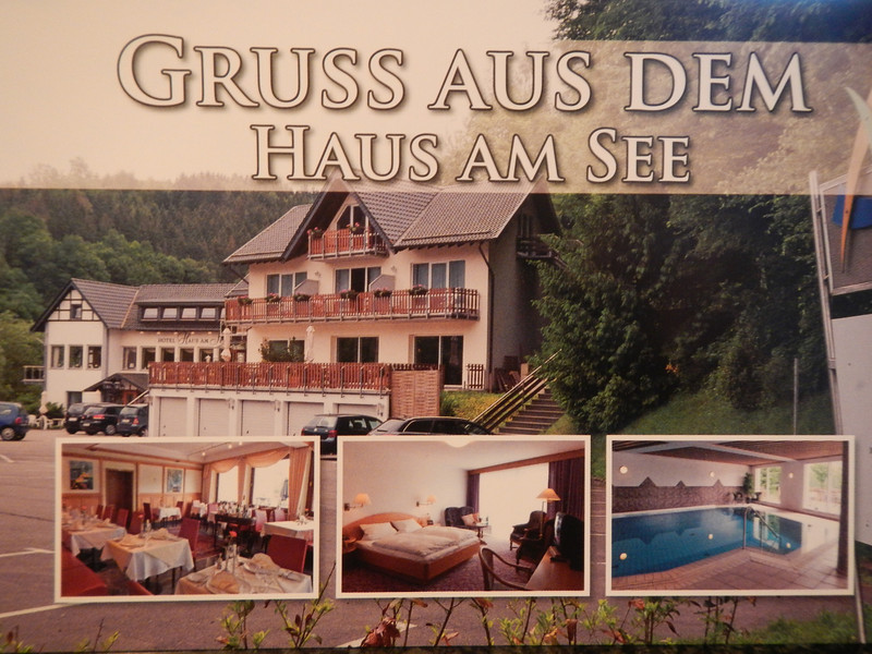 """Hotel - Restaurant - Café Haus am See<br /> Pleushütte 1 - 52152 Simmerath-Einruhr<br />  <a href=""""http://www.hausamseeeifel.de"""">http://www.hausamseeeifel.de</a>"""