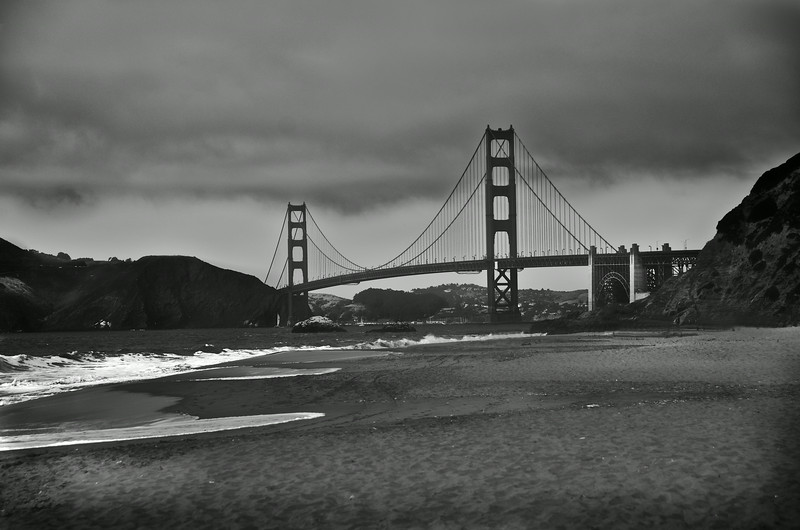 The Golden Gate Bridge/Baker Beach