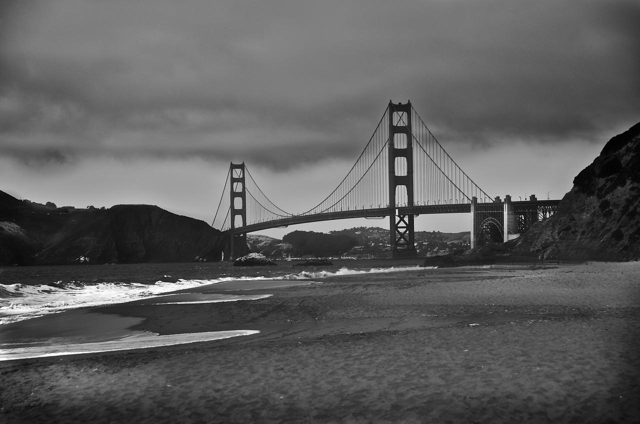 The Golden Gate Bridge/Baker Beach