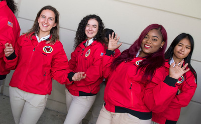 The City Year 10th Annual Opening Day pre-ceremony pictures at celebration and ceremony at North Miami Senior High School in North Miami on Oct 27th, 2017. (Photo by Mitchell Zachs)