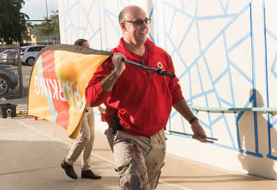 City Year hosts Restaurant Brands International (RBI) Day of Service at the JRE Lee Educational Center in Miami on Dec. 15th, 2017. (Photo by Jenny Abreu Photography / Mitchell Zachs)