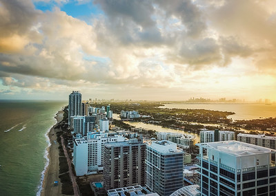 Overlooking Miami
